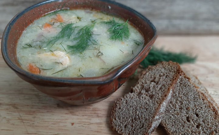 Foolproof dinner made easy: traditional Finnish salmon soup
