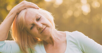 Neck exercises for successful aging