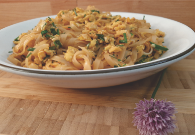 Easy Asian noodle toss