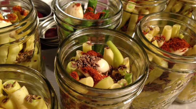 Makeshift root cellars, food preserving and more